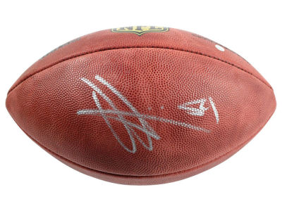 New York Giants Olivier Vernon Steiner Autographed Football