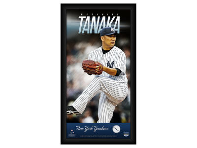 New York Yankees Masahiro Tanaka Steiner 10x20 Framed Photo