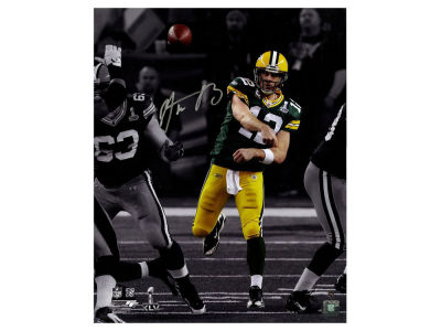 Green Bay Packers Aaron Rodgers Steiner 16x20 Autographed Photo