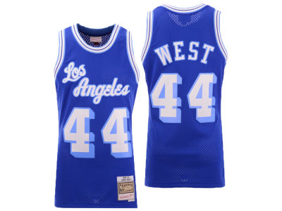 Los Angeles Lakers Jerry West Mitchell & Ness NBA Men's Hardwood Classic Swingman Jersey
