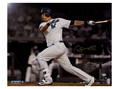 New York Yankees Gary Sanchez Steiner 16x20 Autographed Photo