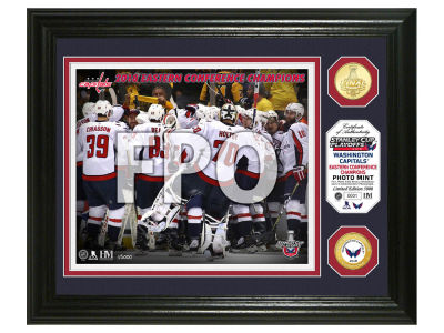Washington Capitals Highland Mint 2018 NHL Conference Champ Bronze Coin Photo Mint