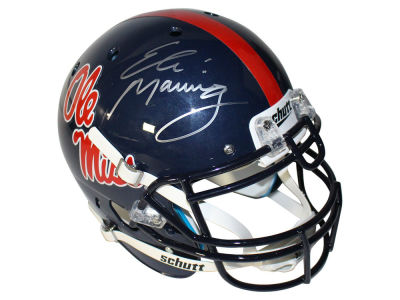 New York Giants Eli Manning Steiner Autographed Replica Helmet