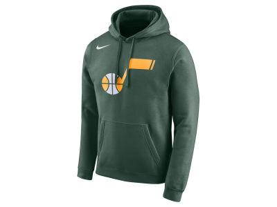 Utah Jazz Nike 2018 NBA Men's Earned Edition Logo Essential Hoodie