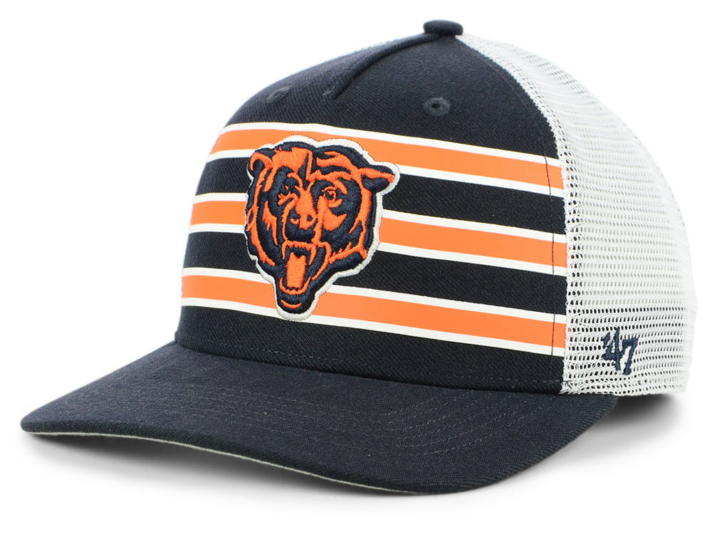 c78c1374e44 Chicago Bears  47 NFL Team Stripe MVP Cap