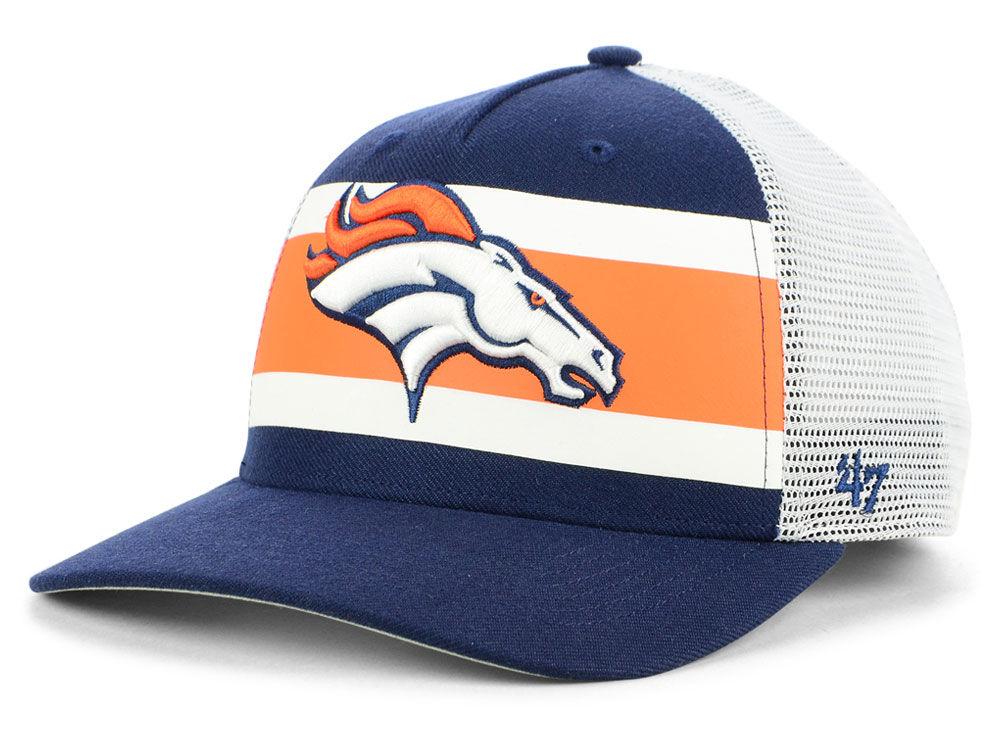 Denver Broncos  47 NFL Team Stripe MVP Cap  395909819