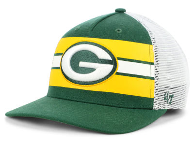 Green Bay Packers '47 NFL Team Stripe MVP Cap