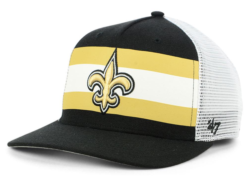 02cb011596c New Orleans Saints  47 NFL Team Stripe MVP Cap