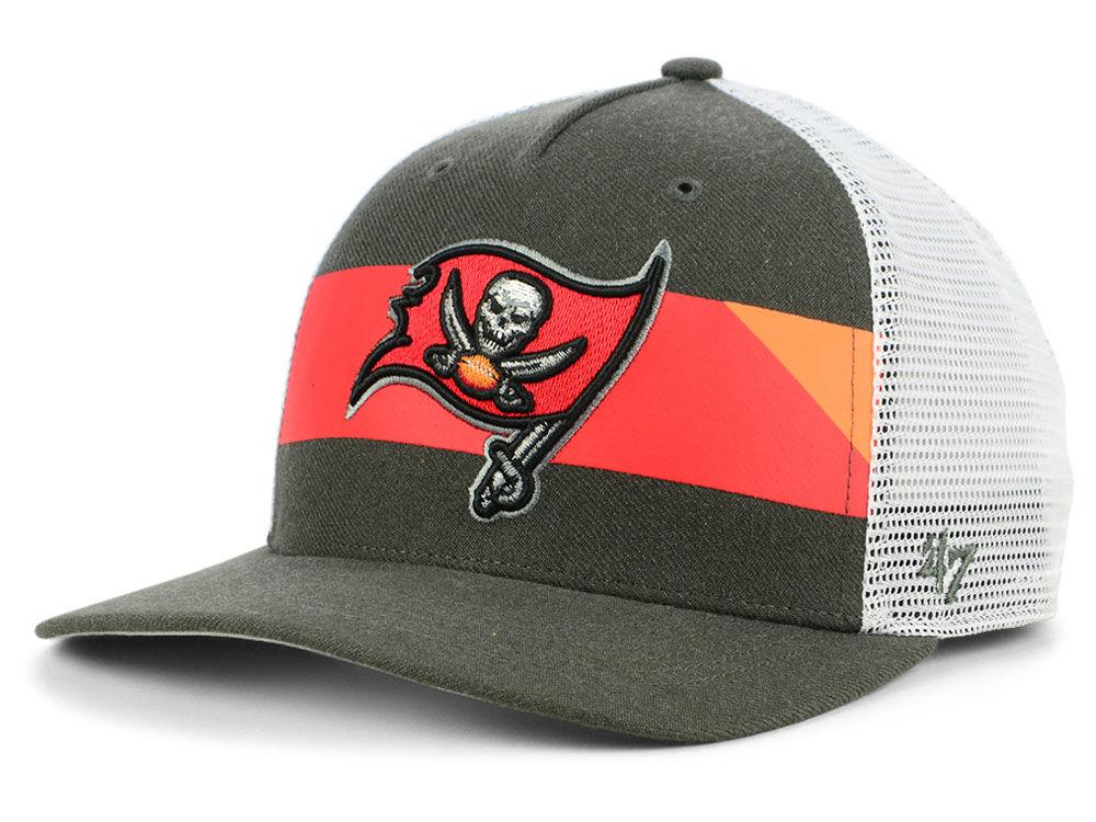 Tampa Bay Buccaneers  47 NFL Team Stripe MVP Cap  05950fe4eb5