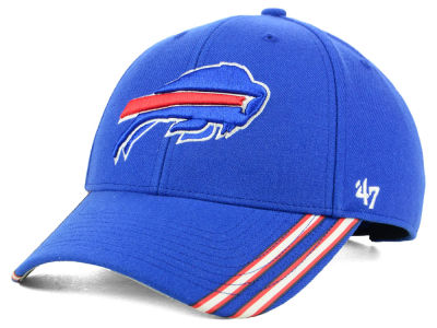 Buffalo Bills '47 NFL Team Visor Stripes MVP Cap