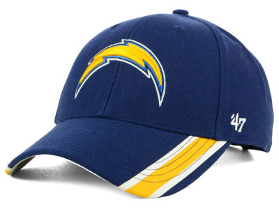 Los Angeles Chargers '47 NFL Team Visor Stripes MVP Cap