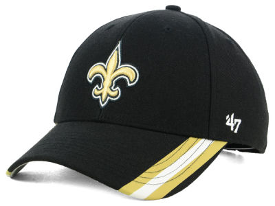New Orleans Saints '47 NFL Team Visor Stripes MVP Cap