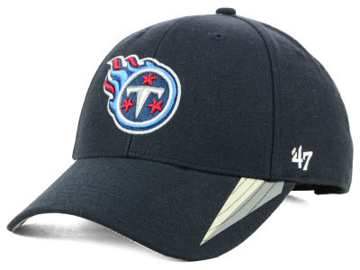 Tennessee Titans '47 NFL Team Visor Stripes MVP Cap