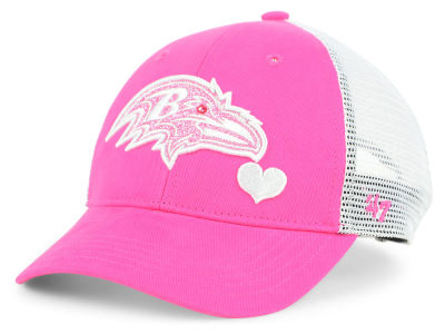 Baltimore Ravens '47 NFL Girls Sugar Sweet Mesh Adjustable Cap