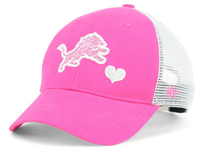 Detroit Lions '47 NFL Girls Sugar Sweet Mesh Adjustable Cap