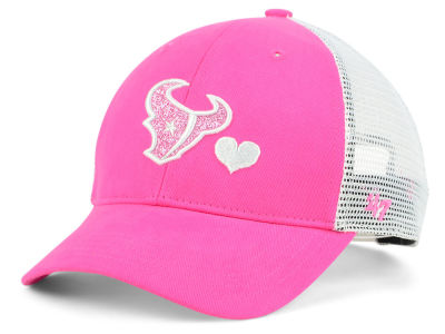 Houston Texans '47 NFL Girls Sugar Sweet Mesh Adjustable Cap