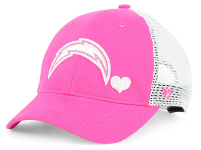 Los Angeles Chargers '47 NFL Girls Sugar Sweet Mesh Adjustable Cap