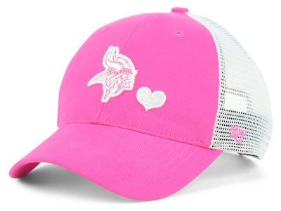 Minnesota Vikings '47 NFL Girls Sugar Sweet Mesh Adjustable Cap