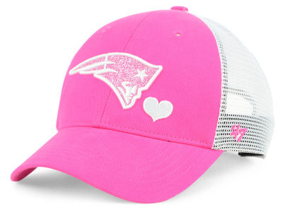 quality design cd9eb 0e77e ... coupon code for new england patriots 47 nfl girls sugar sweet mesh  adjustable cap 0682f 3374a