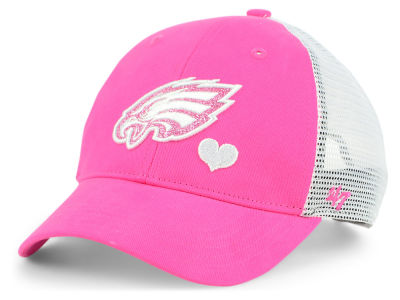Philadelphia Eagles '47 NFL Girls Sugar Sweet Mesh Adjustable Cap