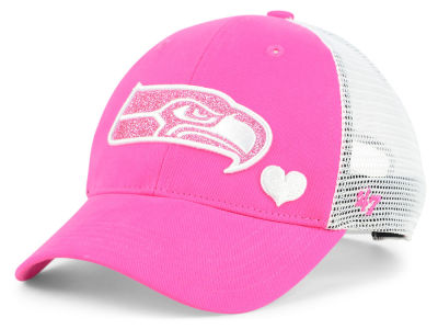 Seattle Seahawks '47 NFL Girls Sugar Sweet Mesh Adjustable Cap