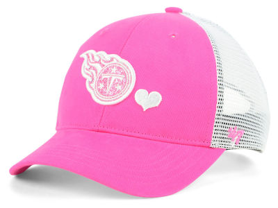 Tennessee Titans '47 NFL Girls Sugar Sweet Mesh Adjustable Cap