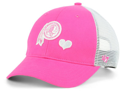 Washington Redskins '47 NFL Girls Sugar Sweet Mesh Adjustable Cap