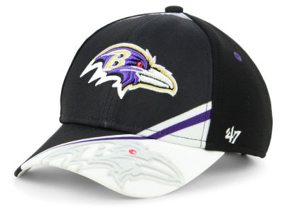 Baltimore Ravens '47 NFL Kids Visor Shadow Adjustable Cap