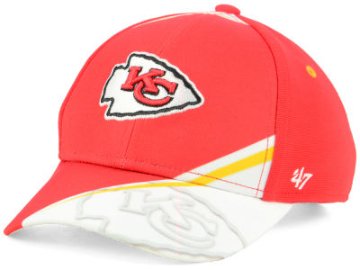 Kansas City Chiefs '47 NFL Kids Visor Shadow Adjustable Cap