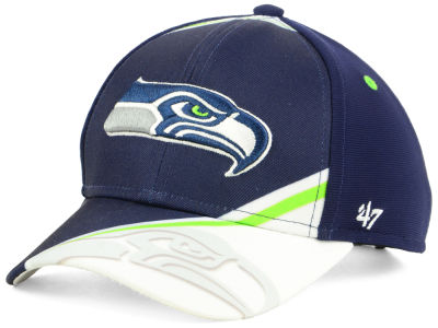 Seattle Seahawks '47 NFL Kids Visor Shadow Adjustable Cap