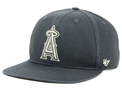 Los Angeles Angels '47 MLB Garment Washed Navy Snapback Cap