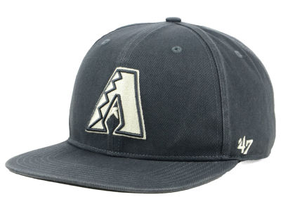 Arizona Diamondbacks '47 MLB Garment Washed Navy Snapback Cap