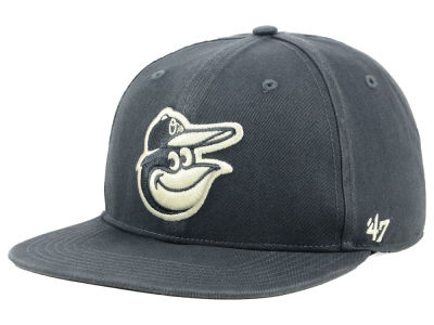 Baltimore Orioles '47 MLB Garment Washed Navy Snapback Cap