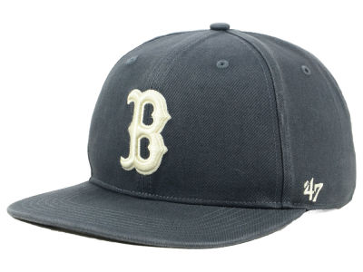 Boston Red Sox '47 MLB Garment Washed Navy Snapback Cap