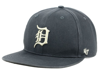 Detroit Tigers '47 MLB Garment Washed Navy Snapback Cap