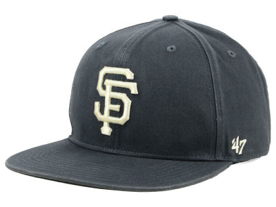 San Francisco Giants '47 MLB Garment Washed Navy Snapback Cap