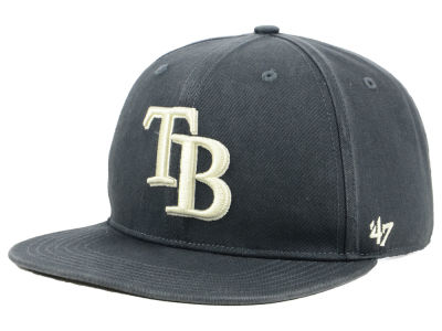 Tampa Bay Rays '47 MLB Garment Washed Navy Snapback Cap