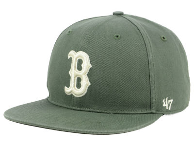 Boston Red Sox '47 MLB Moss Snapback Cap