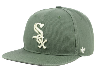 Chicago White Sox '47 MLB Moss Snapback Cap