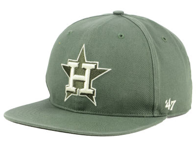 Houston Astros '47 MLB Moss Snapback Cap