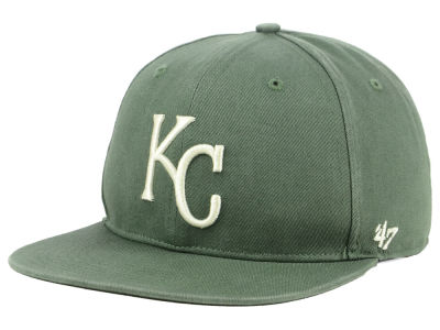 Kansas City Royals '47 MLB Moss Snapback Cap