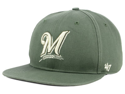 Milwaukee Brewers '47 MLB Moss Snapback Cap