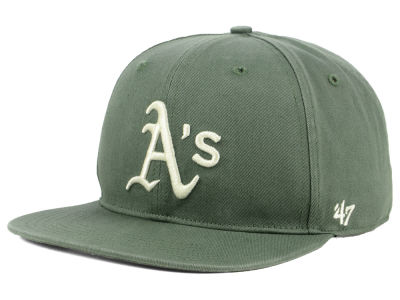 Oakland Athletics '47 MLB Moss Snapback Cap