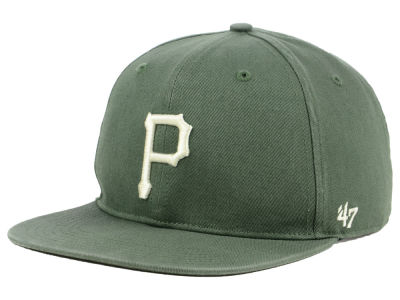 Pittsburgh Pirates '47 MLB Moss Snapback Cap