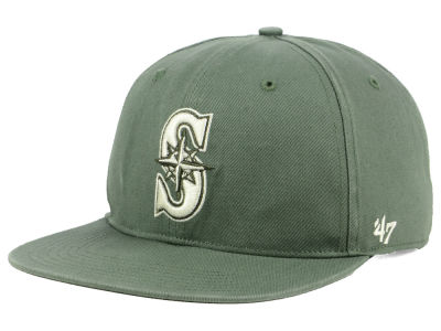 Seattle Mariners '47 MLB Moss Snapback Cap