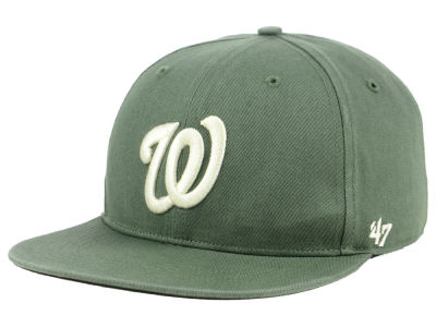 Washington Nationals '47 MLB Moss Snapback Cap