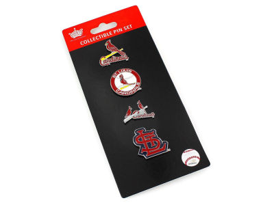St. Louis Cardinals Aminco Logo Evolution 4 Pin Set