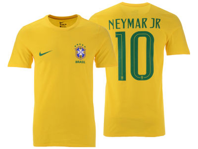 Brazil Neymar  Men's National Team Player T-shirt