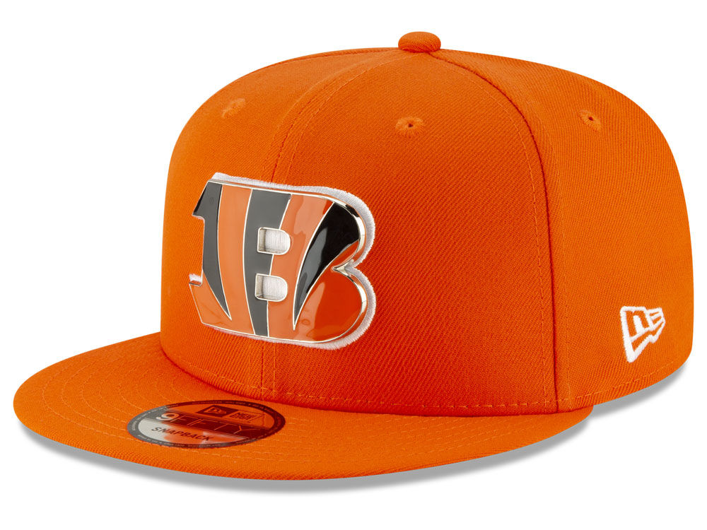 Cincinnati Bengals New Era NFL Metal Thread 9FIFTY Snapback Cap ... 84b8c18a2