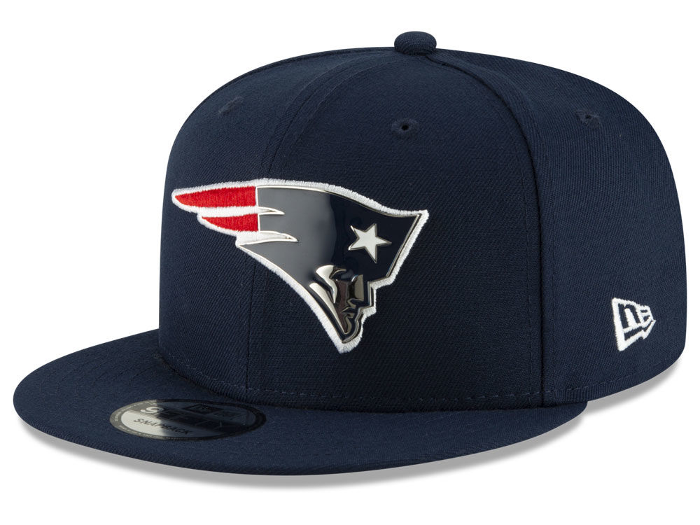 New England Patriots New Era NFL Metal Thread 9FIFTY Snapback Cap ... dc0c342bcfb8